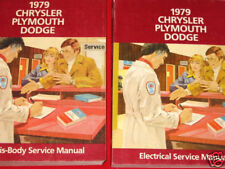 1979 CHRYSLER PLYMOUTH/DODGE -CHASSIS & ELECTRICAL MANU