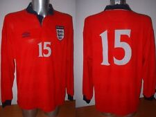 England Player Issue BUTT PARLOUR Adult XL Shirt Jersey Player Soccer Umbro