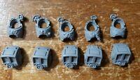 Warhammer 40k Space Marine Bits: Terminator Engraved Torsos x5
