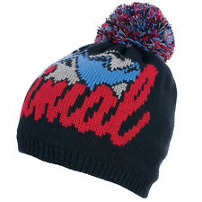 Animal Para Hombre Bromont Bobble Beanie Hat-Negro