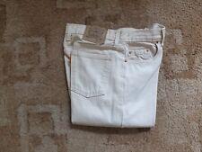 Levi  61802 button fly canvas jeans 32 x 30