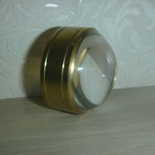 Vintage Antique Brass Maritime Navigational Magnifying Glass.