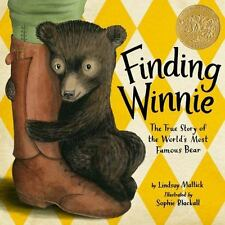Finding Winnie : The True Story of the World's Most Famous Bear -NEW HC