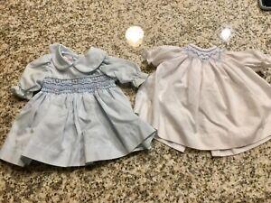 "Rosalina Doll Dress 12"" and 15"" Lot Clothes Dresses"
