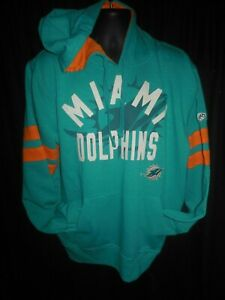 Miami Dolphins NFL Men's G-III Hooded Pullover Sweatshirt Large