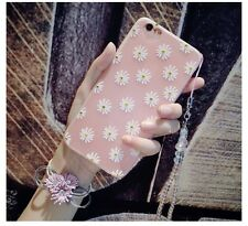 iPhone 7 Case Silicone Case With The Chains Fashion Show Bling Bling Flowers
