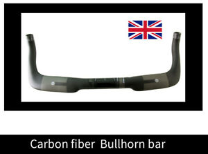 CARBON bicycle road bike TT base bar bullhorn 31.8 mm handlebar 42 44 46 cm