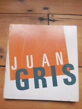 JUAN GRIS. catalogue d'exposition. Orangerie des Tuileries, Paris 1974