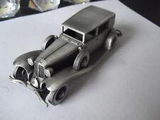 "Danbury Mint England Pewter Car 1929 Cord L29 4 3/8"" Long"