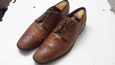 ROCKPORT Brown Leather Castleton Lace Up Oxford Brogue Toe K62560 Men Shoe 12 M