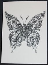 Dobra Lystivka Art Postcard - The Butterfly by Alex Konahin