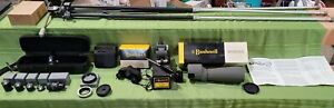 Vintage Bushnell Spacemaster 60mm Prismatic Telescope Tripod Eyepieces