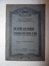 Strobino: Insegnamento della tessitura in Italia 1916 estr. Boll. Cotoniera