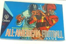 Vintage 1965 CADACO All American Football Game, Quarterback Your Own Team #228