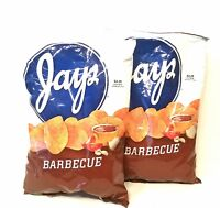 JAY'S BIG BAG BARBEQUE Potato Chips Pack A Chicago Original 2 Pack 10oz bags