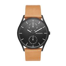 Skagen Men's Holst Multifunction Leather Watch SKW6265