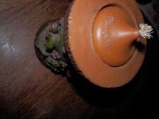 """Vintage Gunter Kerzen German Carved Candle Village 6"""""""
