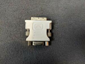 DVI Adapter DVI-I 24 + 4 Pin to 15 Pin VGA Female (HD15) Adapter Connector VGC