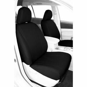 CalTrend Faux Leather Front Seat Cover for Toyota 2008-2018 Sequoia - TY259-01LX