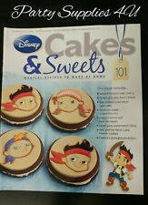 Disney Cakes and Sweets Magazine Issue 101. Jake pirate/recipes/cupcakes/lollies