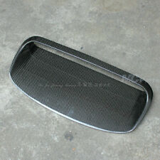 Carbon Fiber Hood Scoop Bonnet Vent Cover For Subaru Impreza WRX STi 2008-2014