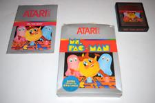Ms. Pac-Man Atari Inc. Atari 2600 Video Game Complete in Box
