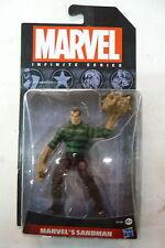 marvel infinite series sandman hasbro spider man