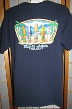 Kids Boys Youth RON JON SURF SHOP COCOA BEACH FLORIDA Blue Shirt Size Youth XL
