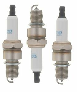 Set Of 3 Spark Plugs AcDelco For Daihatsu Charade 1.0L L3 1988-1992