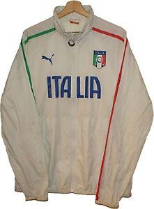 2000's ITALY Football RAINBREAKER JACKET TRACK SUIT TRICOT Jersey PUMA size L