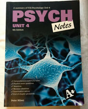 A Summary Of Psych Notes Unit 4 4th Edition 9780170243179 Nelson Cengage