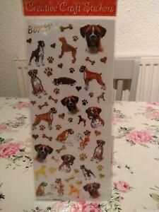 Boxer craft stickers
