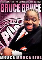 Platinum Comedy Series - Bruce Bruce (2 DVD) - Color Full Screen Ntsc - *NEW*