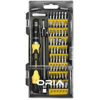 Yellow 60-In-1 Magnetic Precision Screwdriver For Phone PC Repair Tool Kit Set