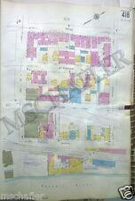 Original 1931 Newark New Jersey NJ Broad - Passaic Sanborn Maps Atlas 18 x 27