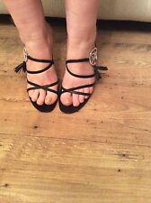Christian Dior Ladies Black Mules Size 6.5