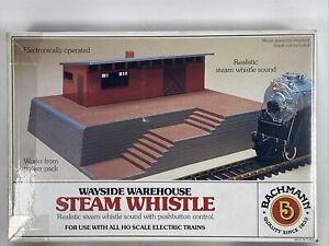 Bachmann Wayside Warehouse Steam Whistle Building Model Kit HO 46209