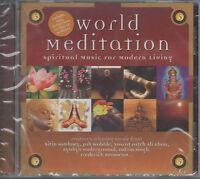 World Meditation Spiritual Music Modern Living CD NEU Jah Wobble Talvin Singh