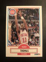 1990 Fleer Isiah Thomas #61 Detroit Pistons NBA HOF PSA 9/10 ??