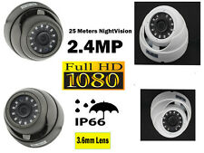 1080P 2.4MP Turbo HD TVI Dome Waterproof IR Nightvision Security CCTV Camera