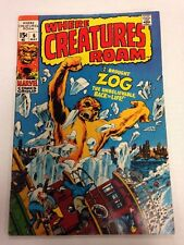 Where Creatures Roam #6 May 1971 Zog The Unbelievable