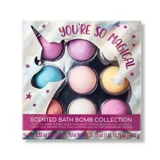 Target Beauty You're So Magical Scented Bath Bomb Collection, 9pc. *Damaged Box*