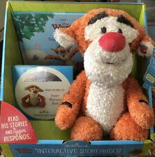 NEW Hallmark Interactive Story Buddy Tigger Plush With Book & CD