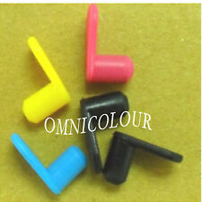 5 rubber plugs plug for HP Canon Brother refillable cartridge CISS refill ink