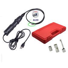 5.5mm 6 LEDs USB Endoscope Inspection Borescope Snake Camera+Hook+Maganet+Mirror