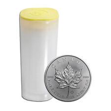 25x 1 oz Silber Maple Leaf 2019 - 5 Dollar Kanada Stempelglanz Silbermünze 999,9