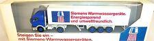 Siemens Warmwassergeräte LKW MB  Werbemodell Herpa 1:87 HO OVP    å