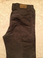 Urban Pipeline Boys Dark Gray Carpenter Pants Size 12 Husky