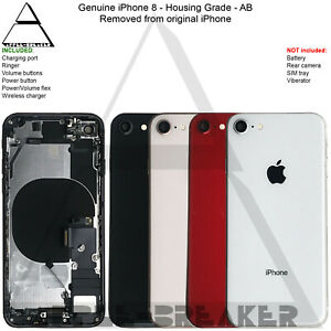 iPhone 8 and 8 PLUS 8+ REAR CHASSIS HOUSING WITH PARTS ORIGINAL GENUINE AB