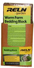 2x Reln Garden WORM FARMS BEDDING BLOCK 100% Coconut Fibre *Australian Brand